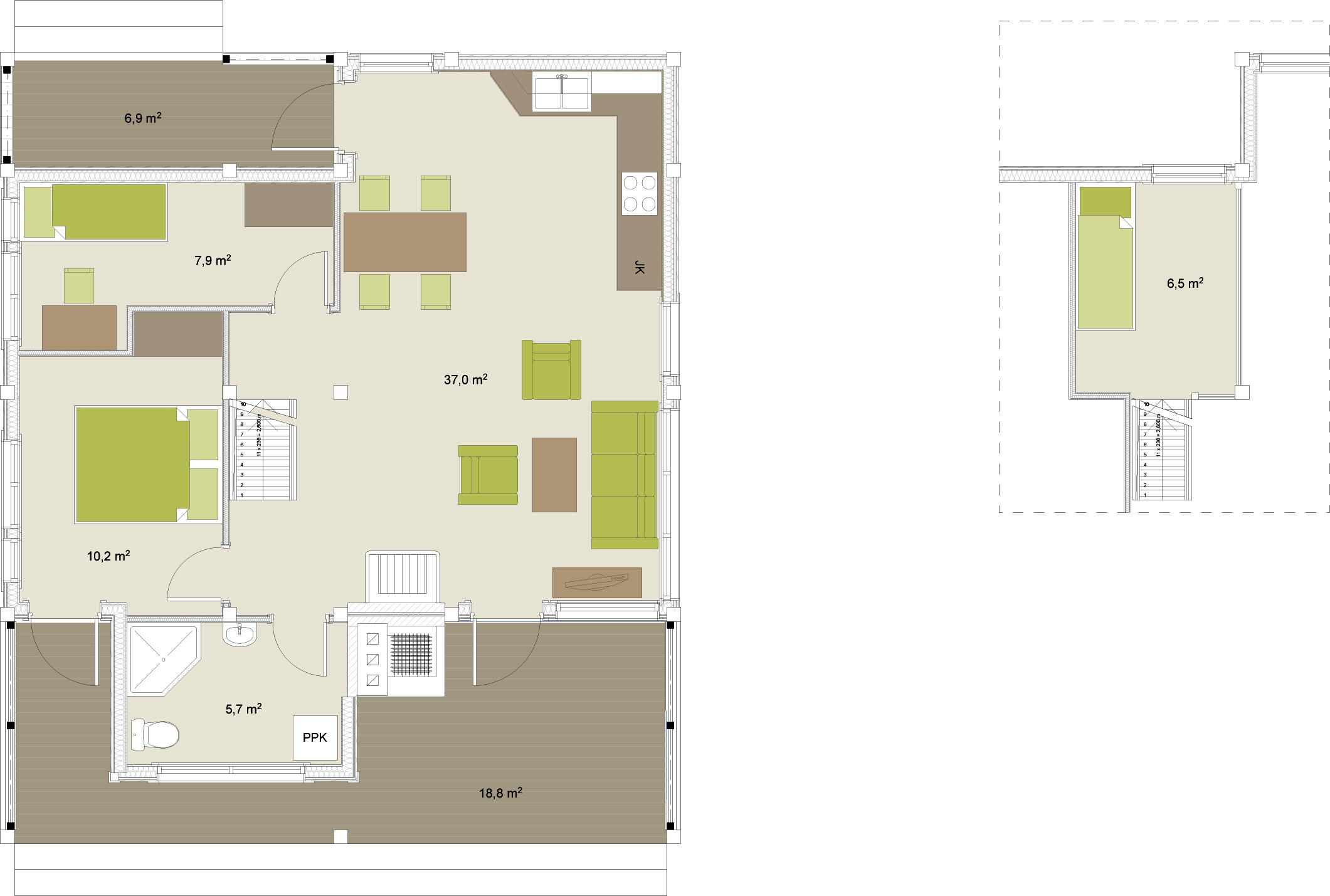 Artic Frame 102 timber house floorplans