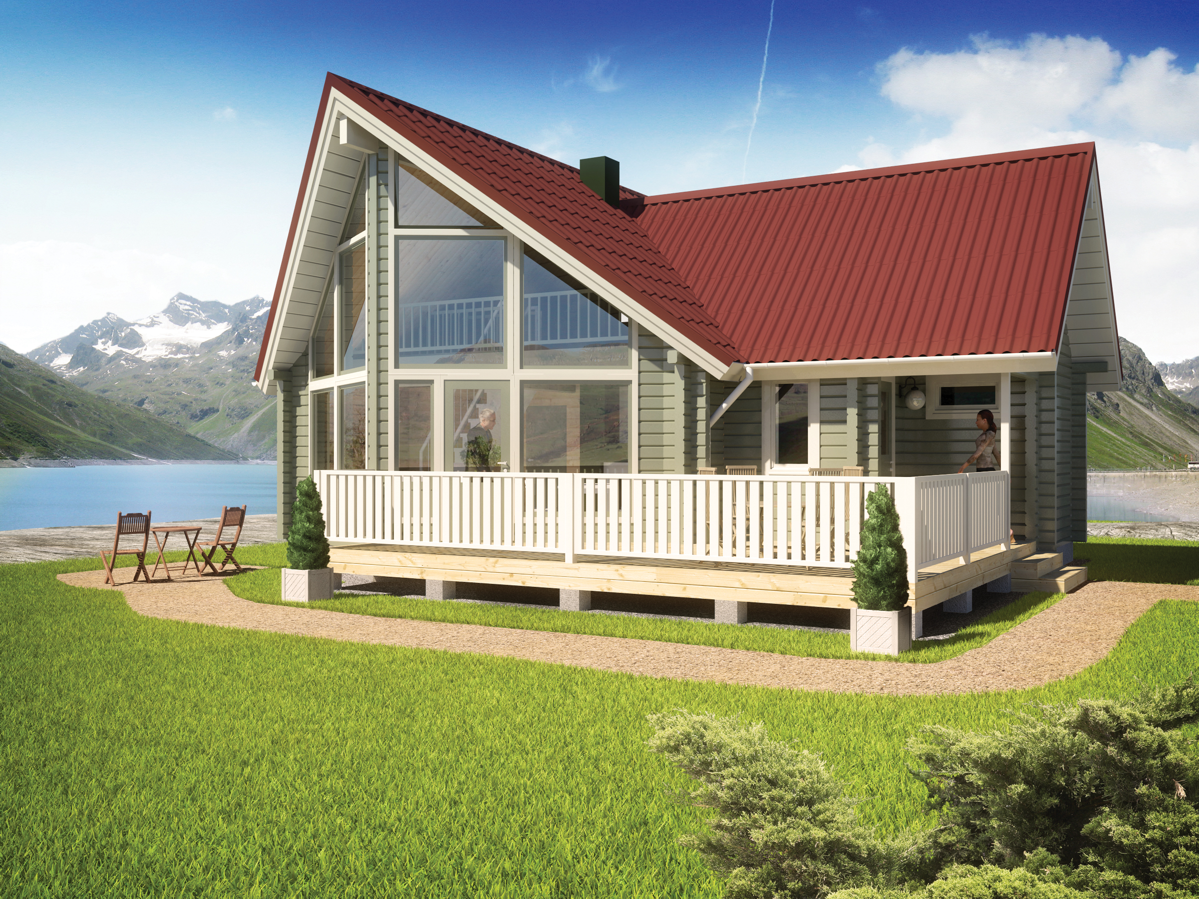 Tunturi 131 Timber Frame Home
